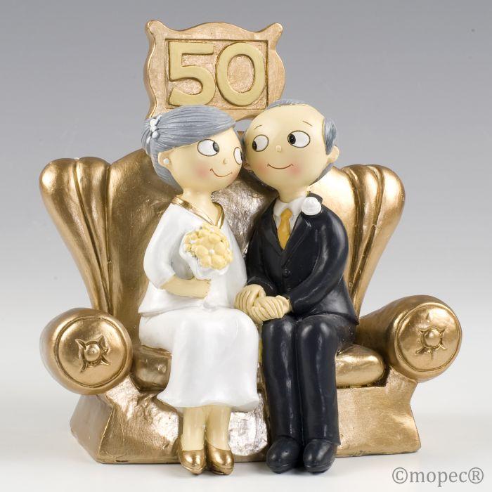 10fecfae93 Figura para Tartas de Bodas de Oro Pop   Fun al por mayor