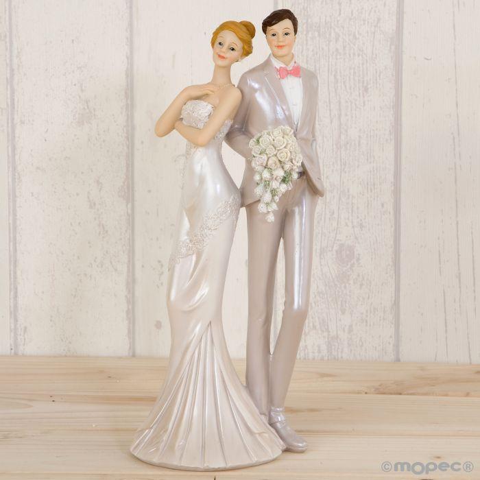 figura para tartas de boda novios vestidos de fiesta al por mayor